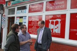 Plaid Cymru at Cefn Mawr Post Office, Cefn Mawr, Cefn